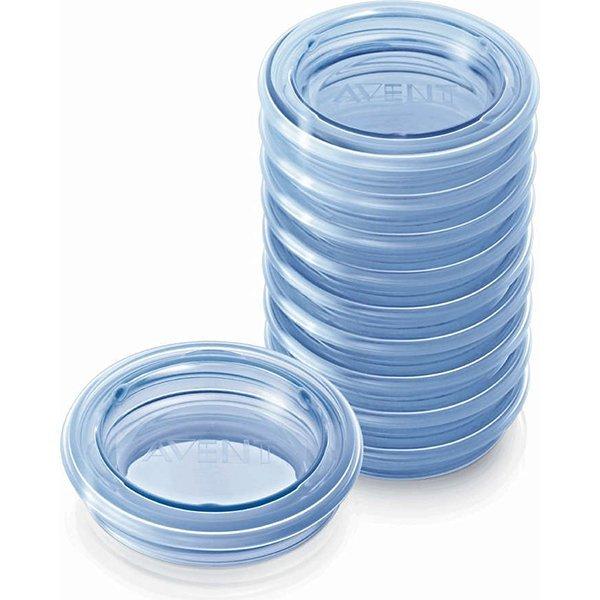 Крышки для контейнеров VIA, 10 штук SCF614/10