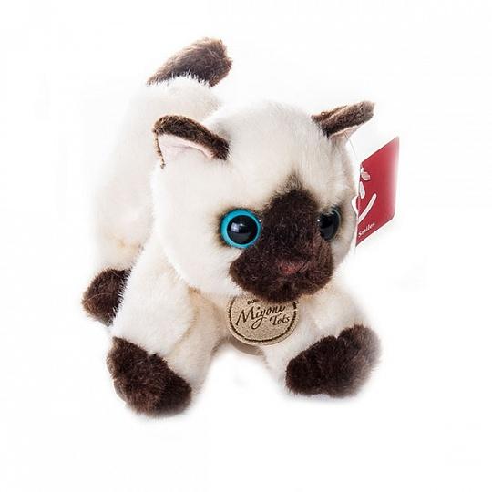 Мягкая игрушка – Сиамский котенок, 20 смКоты<br>Мягкая игрушка – Сиамский котенок, 20 см<br>
