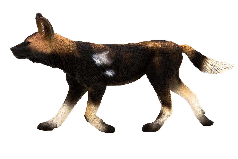 Фигурка - Собака африканская, размер 11 х 2 х 6 см.Дикая природа (Wildlife)<br>Фигурка - Собака африканская, размер 11 х 2 х 6 см.<br>