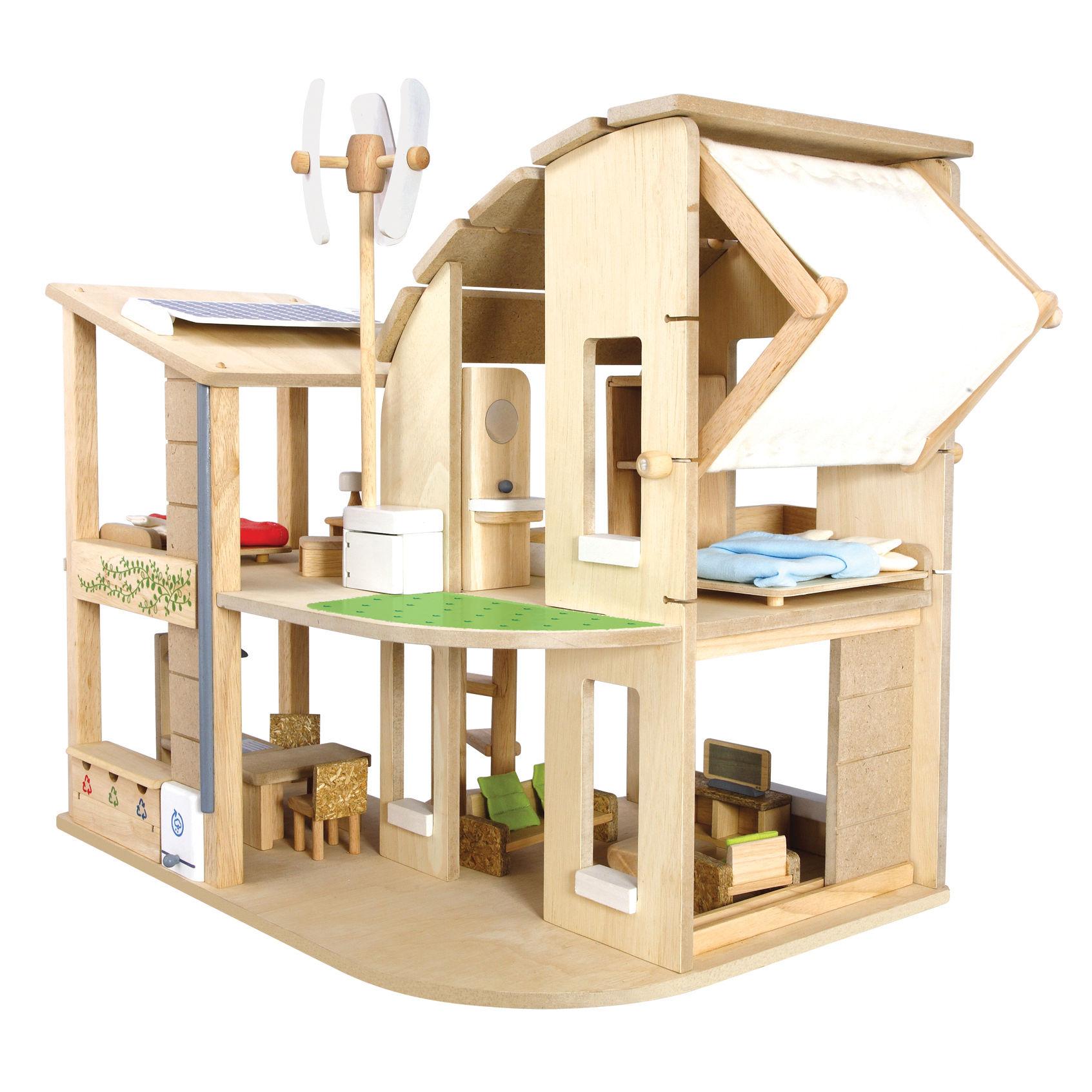 Эко-кукольный дом с аксессуарамиКукольные домики<br>Эко-кукольный дом с аксессуарами<br>