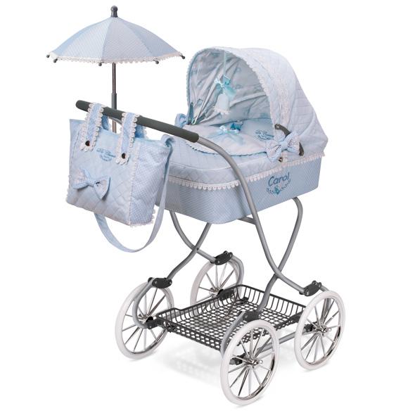 Коляска с сумкой и зонтиком из серии Кэрол, 90 см
