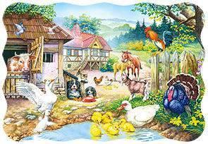 Пазл Castorland 30 деталей ФермаПазлы<br>Пазл Castorland 30 деталей Ферма<br>