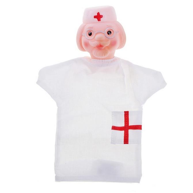 Кукла-перчатка - Доктор Айболит, 28 смДетский кукольный театр <br>Кукла-перчатка - Доктор Айболит, 28 см<br>