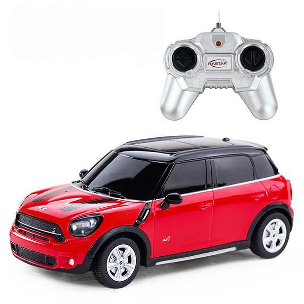 картинка Машина на р/у – Mini Cooper S Countryman, 1:24, красный от магазина Bebikam.ru
