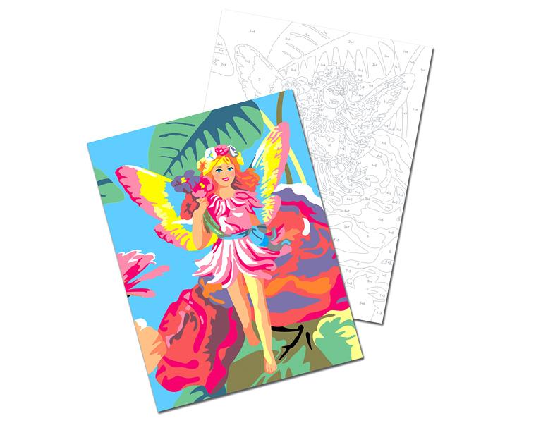 Набор для творческого развития - Раскраска по номерамРаскраски по номерам Schipper<br>Набор для творческого развития - Раскраска по номерам<br>