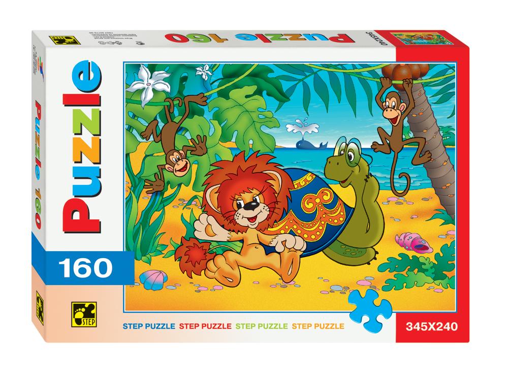 Пазл Львенок и Черепаха, 160 элементов от Toyway