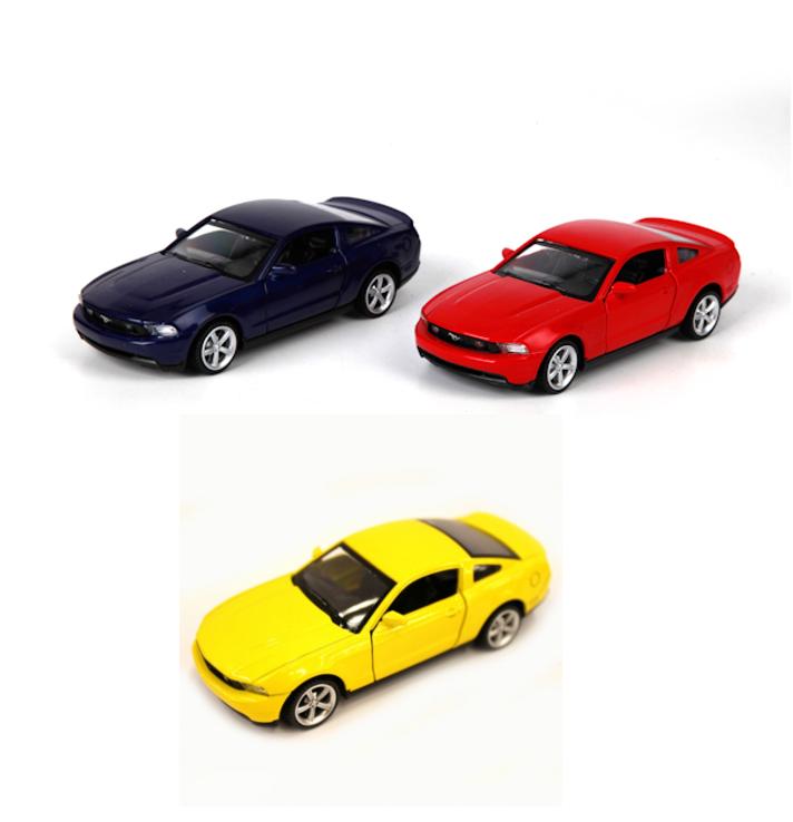 Машина металлическая инерционная - Ford Mustang GtFord<br>Машина металлическая инерционная - Ford Mustang Gt<br>