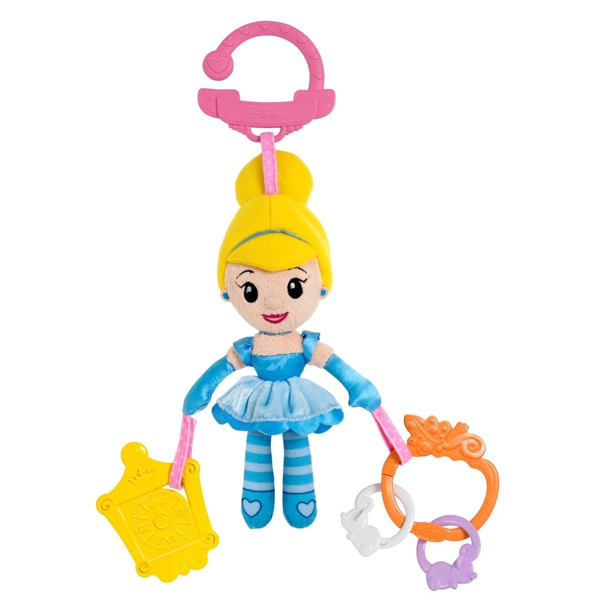 Мягкая подвесная игрушка для коляски  Золушка - Развивающая дуга. Игрушки на коляску и кроватку, артикул: 143482