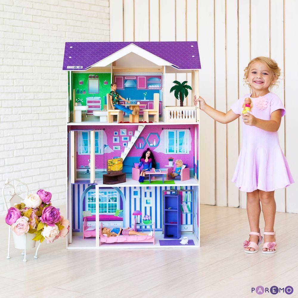 Кукольный дом с мебелью - Флоренция, 16 предметов, Paremo  - купить со скидкой