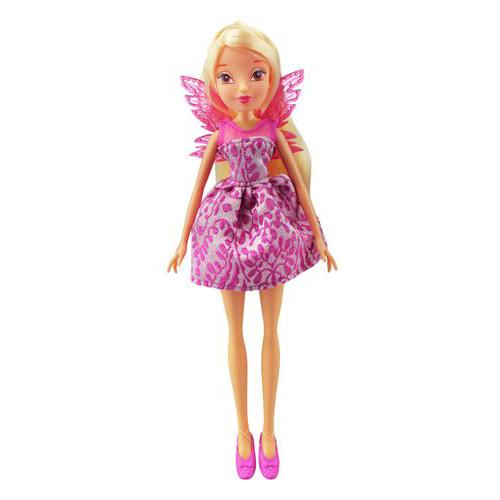 Кукла из серии Winx Club Мисс Винкс – StellaКуклы Винкс (Winx)<br>Кукла из серии Winx Club Мисс Винкс – Stella<br>