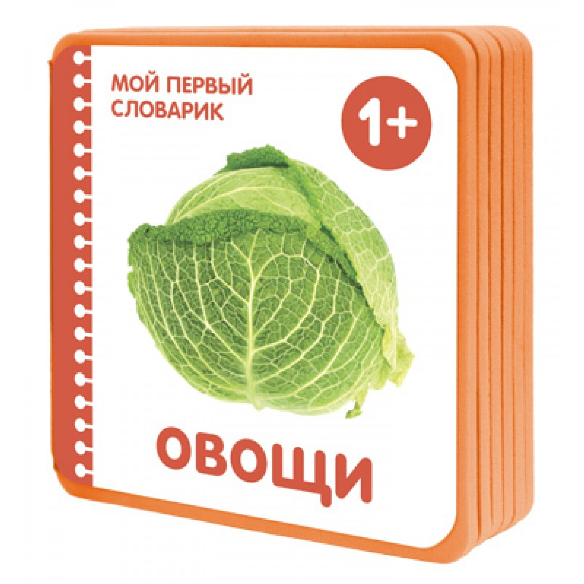 Купить Книжки-плюшки - Мой первый словарик. Овощи, для детей от 1 года, Мозаика-Синтез