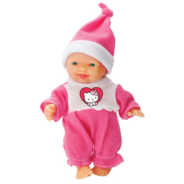 Пупс, 10 см., в ванночке, с аксессуарами, из серии Hello KittyКуклы Карапуз<br>Пупс, 10 см., в ванночке, с аксессуарами, из серии Hello Kitty<br>