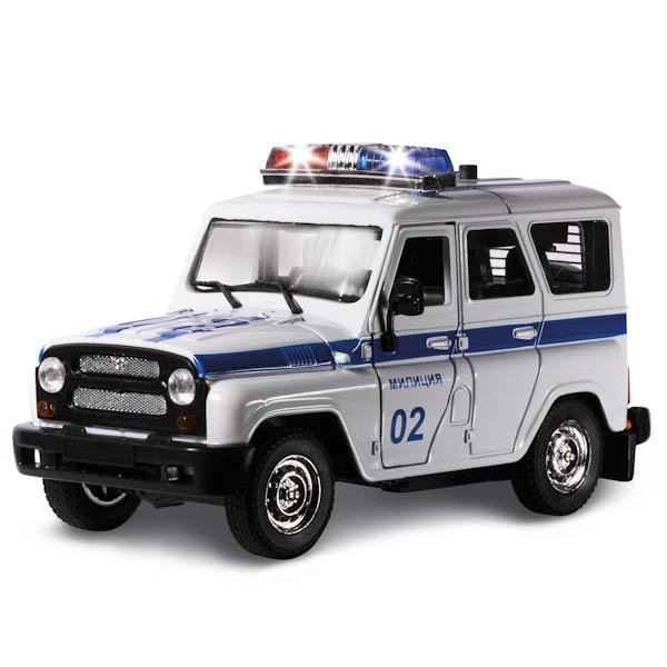 УАЗ Полиция, звуковые и световые эффектыПолицейские машины<br>УАЗ Полиция, звуковые и световые эффекты<br>