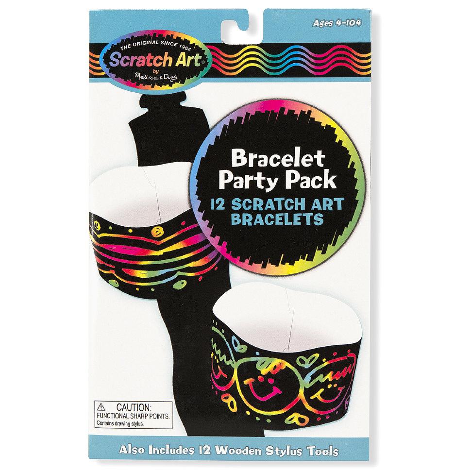 Набор для декора браслетов «Scratch art»с различными эффектами<br>Набор для декора браслетов «Scratch art»<br>