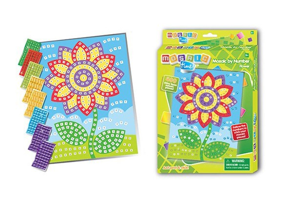 Мозаика по номерам Цветок 400 деталей по цене 249