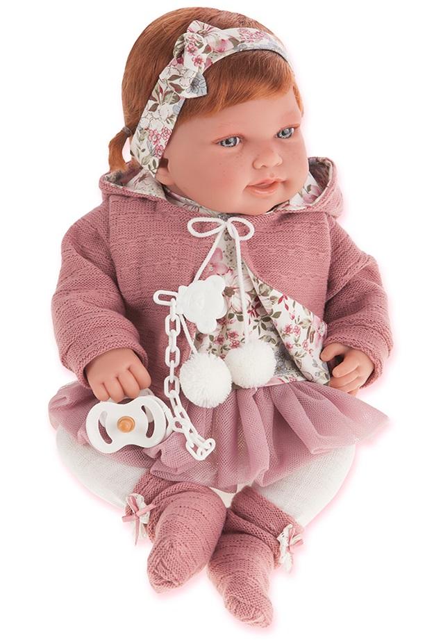 Кукла Саманта в розовом, 40 смКуклы Антонио Хуан (Antonio Juan Munecas)<br>Кукла Саманта в розовом, 40 см<br>