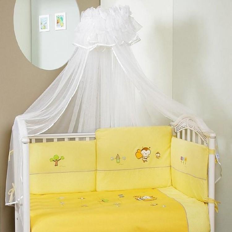 Комплект постельного белья Bee лонг, 6 предметовДетское постельное белье<br>Комплект постельного белья Bee лонг, 6 предметов<br>