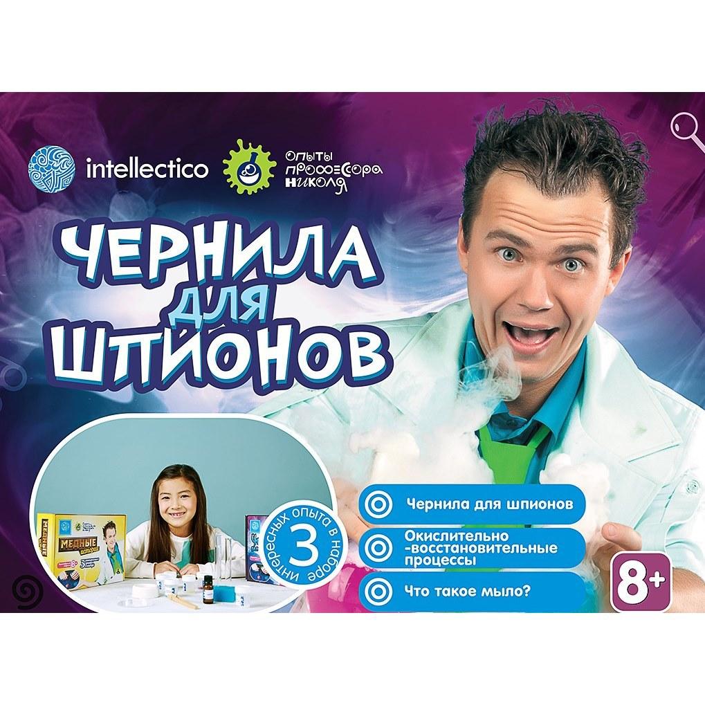 Набор химика «Чернила для шпионов» , 3 опытаЮный химик<br>Набор химика «Чернила для шпионов» , 3 опыта<br>
