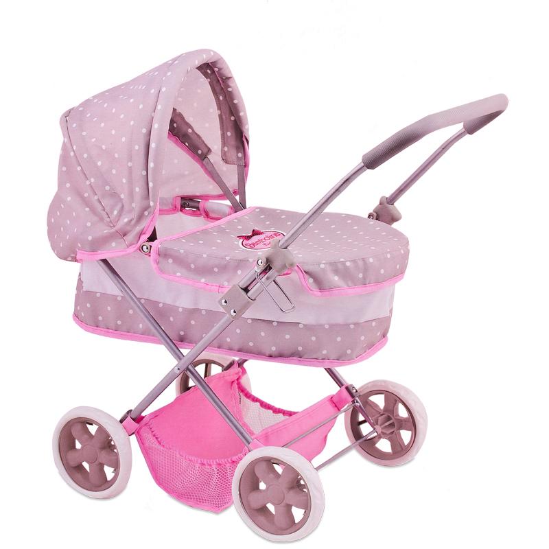 Классическая коляска для куклы Bambolina BoutiqueКоляски для кукол<br>Классическая коляска для куклы Bambolina Boutique<br>