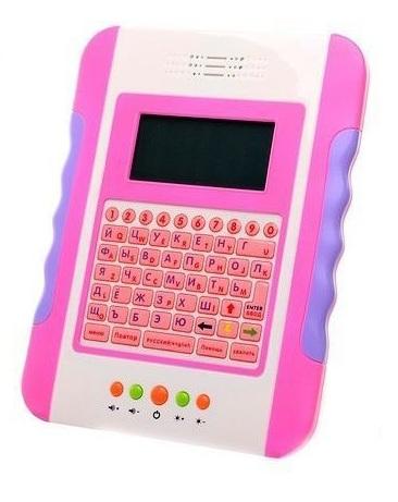 Обучающий планшет, с цветным экраном, розовый - Планшеты, Электронные книги и плакаты, артикул: 136695