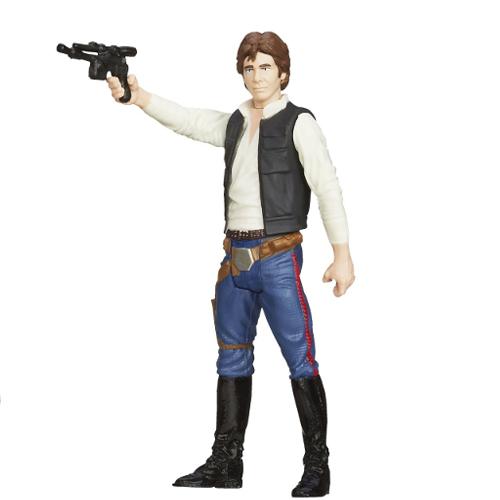 Большая фигурка Хан Соло - Звёздные воиныИгрушки Star Wars (Звездные воины)<br>Большая фигурка Хан Соло - Звёздные воины<br>