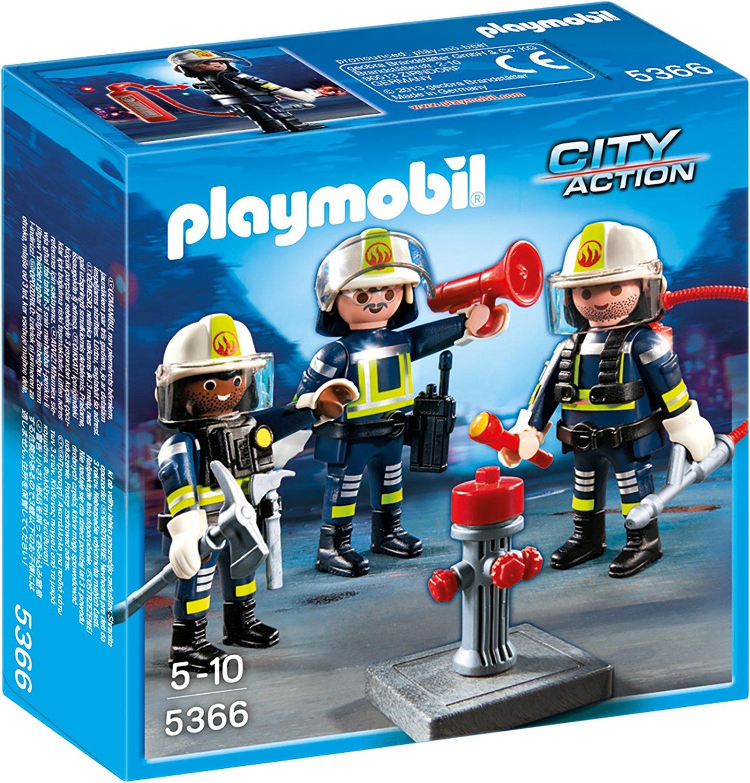 Игровой набор из серии Пожарная служба  Команда пожарников - Конструкторы Playmobil, артикул: 159051