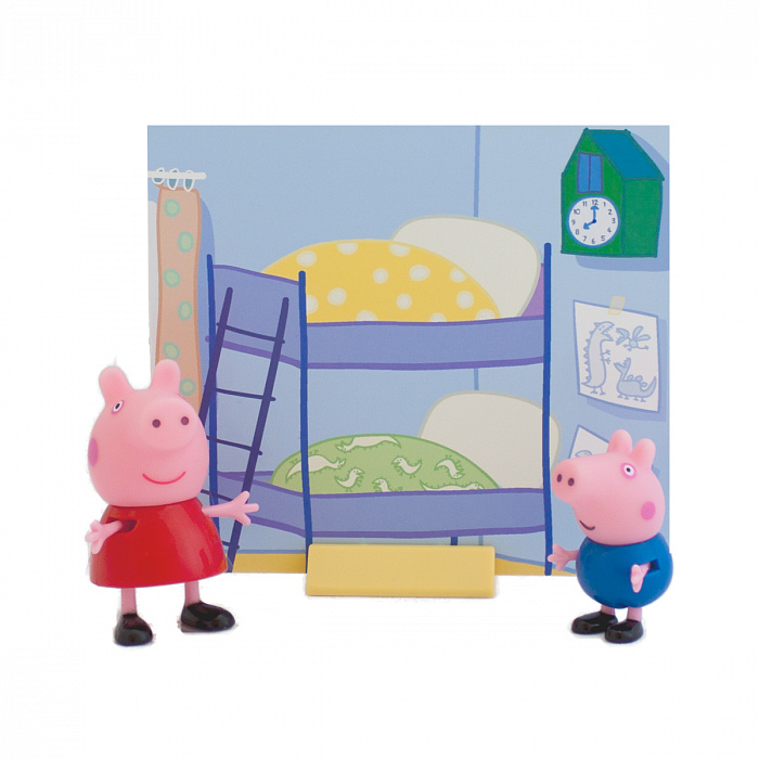 Игровой набор - Пеппа и Джордж, из серии Peppa PigСвинка Пеппа Peppa Pig<br>Игровой набор - Пеппа и Джордж, из серии Peppa Pig<br>