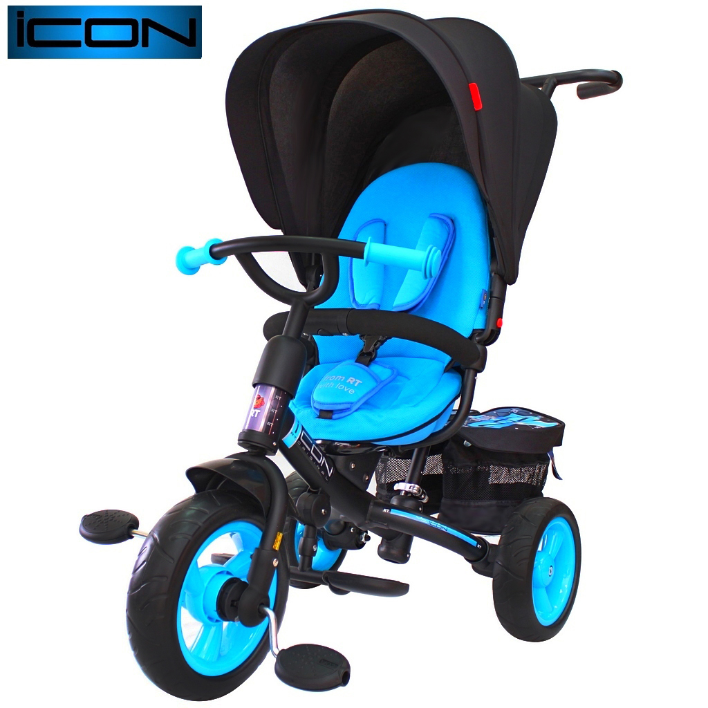 Велосипед RT ICON evoque NEW Stroller by Natali Prigaro Blue topazВелосипеды детские<br>Велосипед RT ICON evoque NEW Stroller by Natali Prigaro Blue topaz<br>