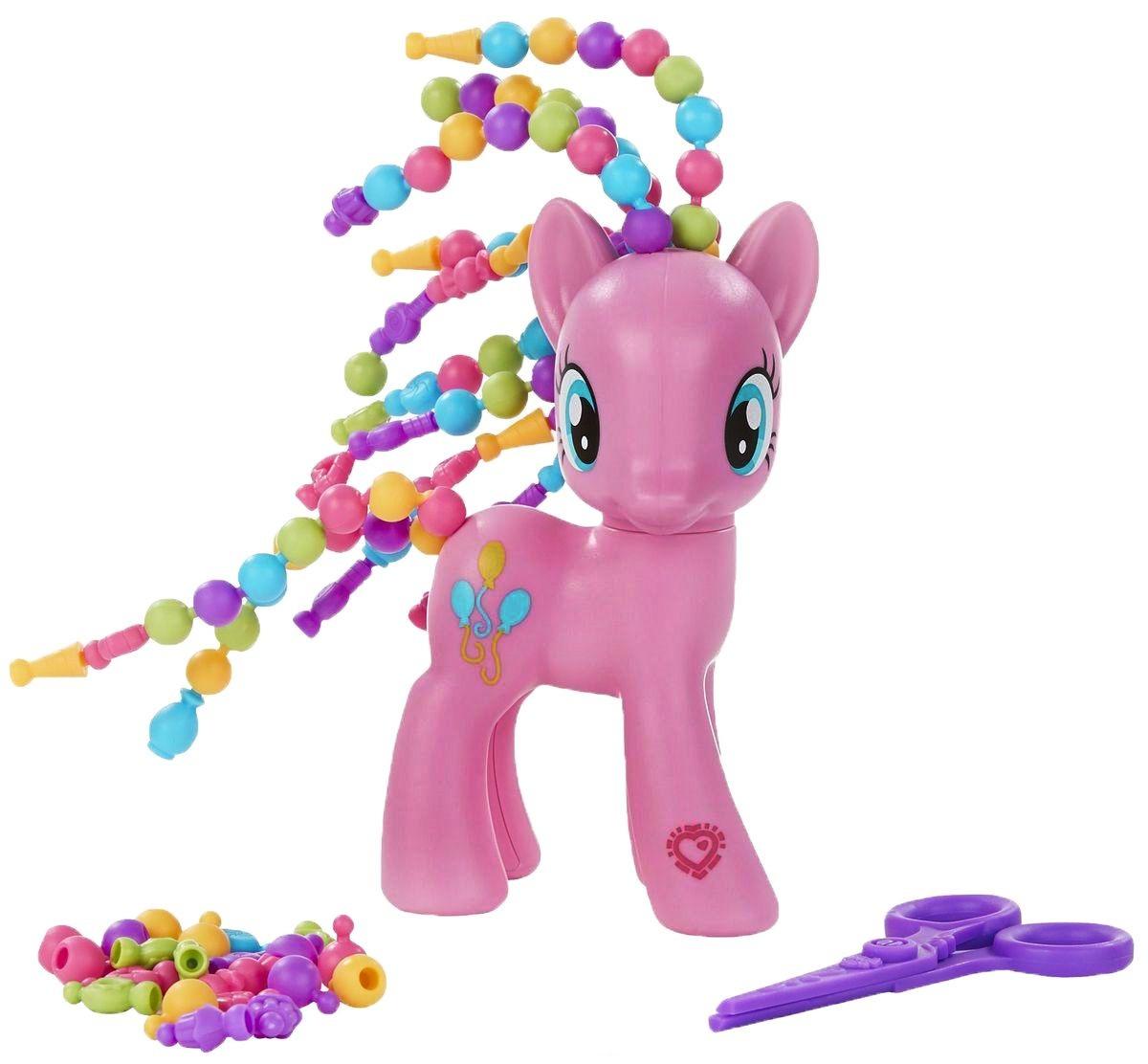 Игровой набор My Little Pony Пони с разными прическами - Пинки ПайМоя маленькая пони (My Little Pony)<br>Игровой набор My Little Pony Пони с разными прическами - Пинки Пай<br>