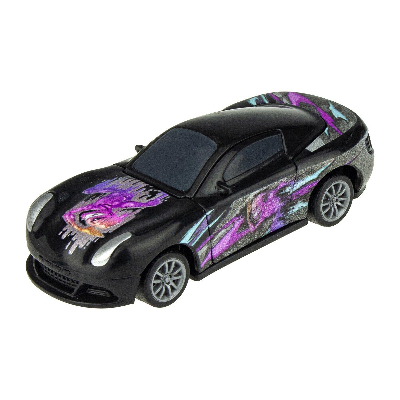 Купить со скидкой Инерционная сборно-разборная модель CrashFest 2 в 1 - Ghost Racer, 10 см