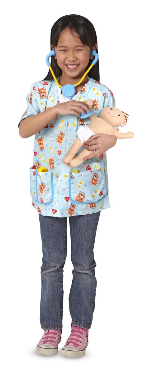 Костюм «Детская медсестра» с аксессуарами - Наборы доктора детские, артикул: 139035