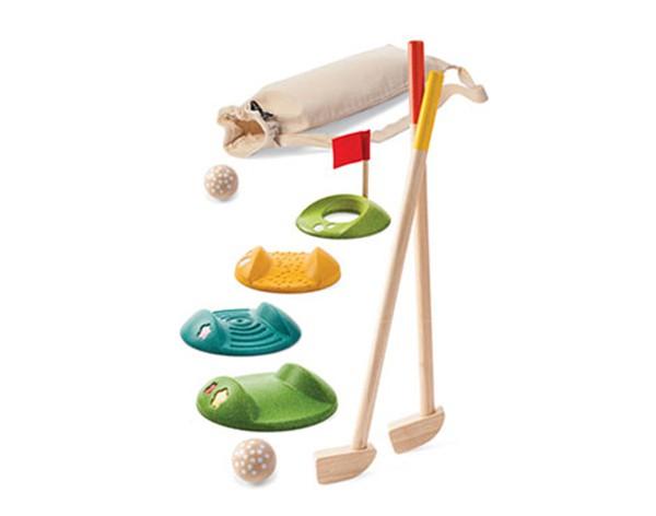 Игровой набор Минигольф с клюшками и шариками