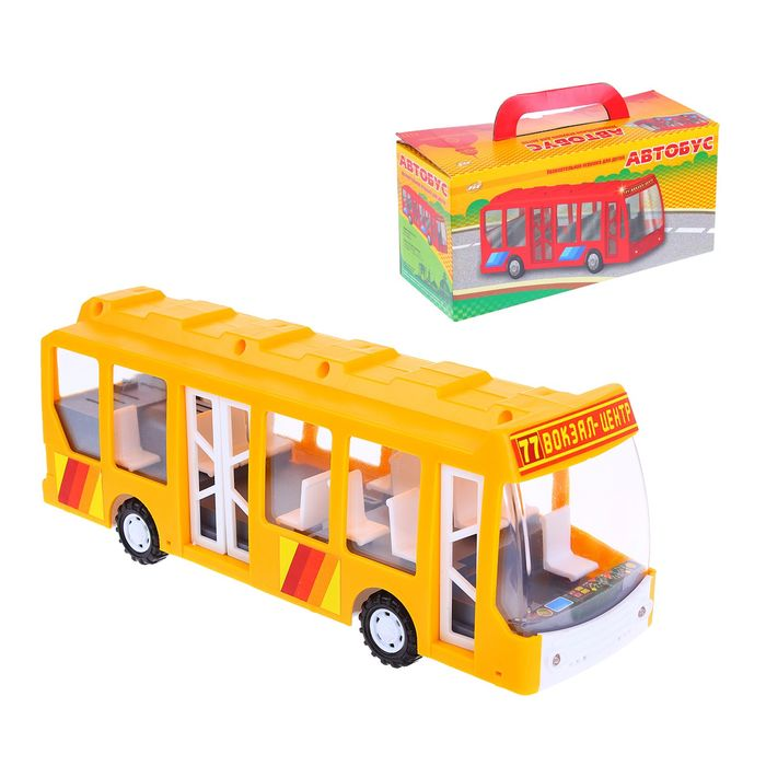 Автобус механическийАвтобусы, трамваи<br>Автобус механический<br>