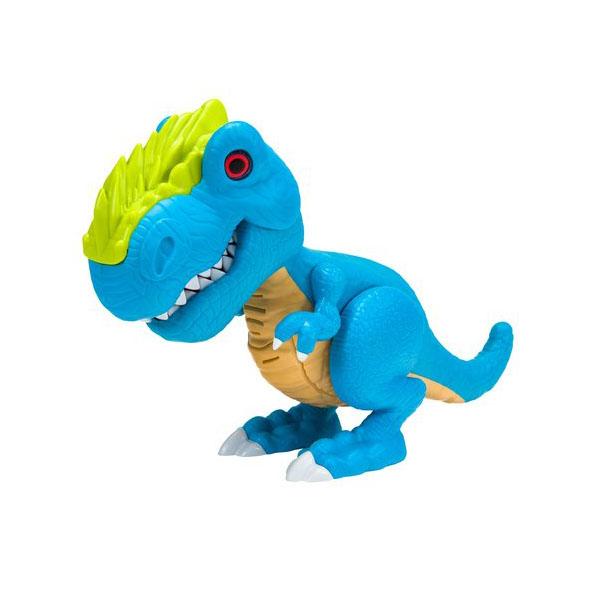 Игрушка Junior Megasaur - Динозавр, голубой, свет и звукИнтерактивные животные<br>Игрушка Junior Megasaur - Динозавр, голубой, свет и звук<br>
