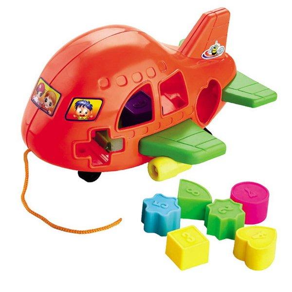 Сортер логический - СамолётСортеры, пирамидки<br>Сортер логический - Самолёт<br>