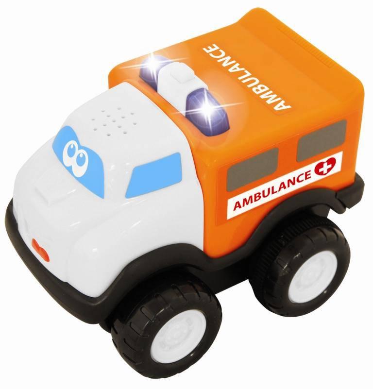 Машина скорой помощи - Машинки для малышей, артикул: 98995