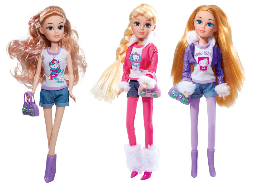 Кукла Мария Зимние приключения - Hello Kitty, 29 смКуклы Карапуз<br>Кукла Мария Зимние приключения - Hello Kitty, 29 см<br>