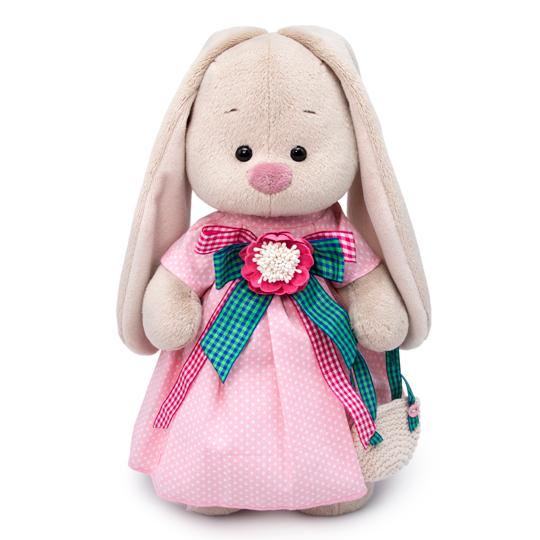 Купить Мягкая игрушка - Зайка Ми Розовая дымка, большой, 32 см, Budi Basa