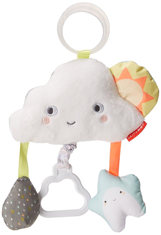 Развивающая игрушка-подвеска ТучкаДетские погремушки и подвесные игрушки на кроватку<br>Развивающая игрушка-подвеска Тучка<br>