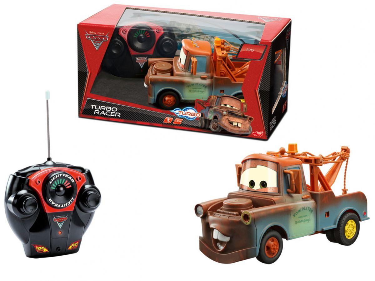 Cars-2 Turbo RC Racer Mater  на радиоуправленииCARS 3 (Игрушки Тачки 3)<br>Машина Turbo RC Racer Mater (Мэтр) на радиоуправлении - Это друг главного героя мультфильма «Тачки», который станет самой любимой игрушкой для мальчика.<br>