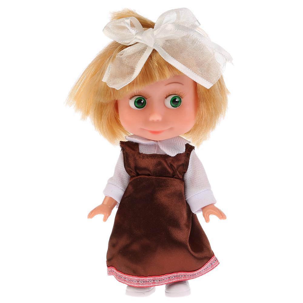 Купить Интерактивная кукла Маша – Маша и Медведь. Школьница, Карапуз