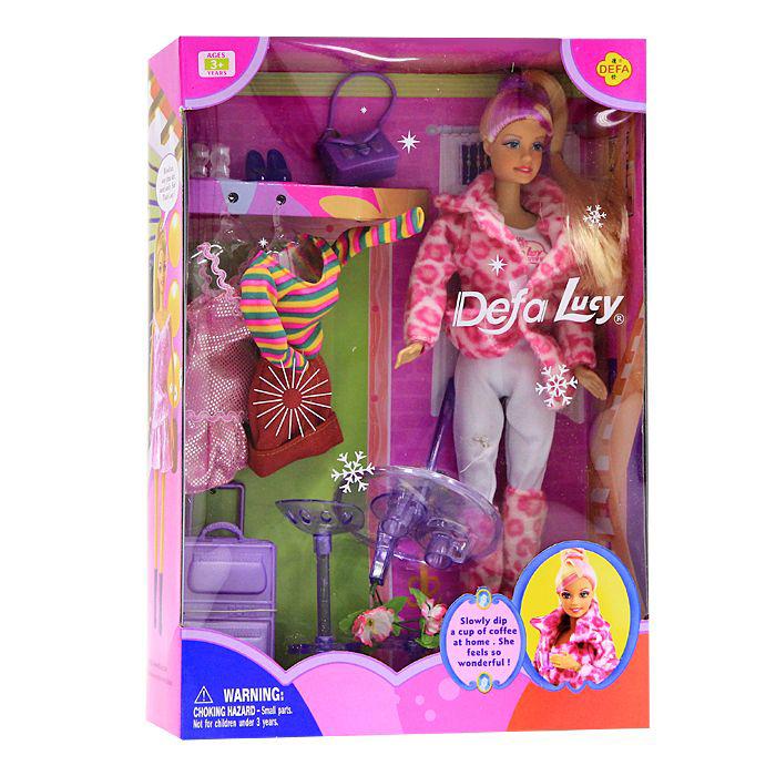 Купить Кукла Defa в наборе с нарядами и аксессуарами, 29 см., Defa Lucy