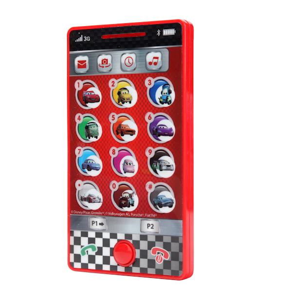 Сенсорный телефон Умка Disney ТачкиCARS 3 (Игрушки Тачки 3)<br>Сенсорный телефон Умка Disney Тачки<br>