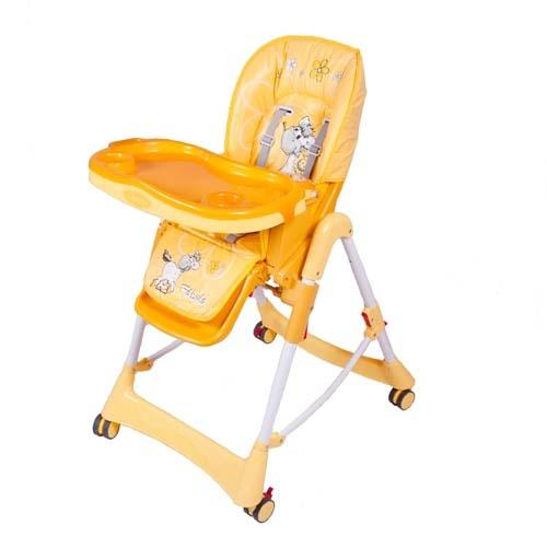 Стульчик для кормления - Piero Fabula Horse, оранжевыйСтульчики для кормления<br>Стульчик для кормления - Piero Fabula Horse, оранжевый<br>