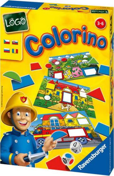 Настольная игра Лого КолориноРазвивающие<br>Настольная игра Лого Колорино<br>