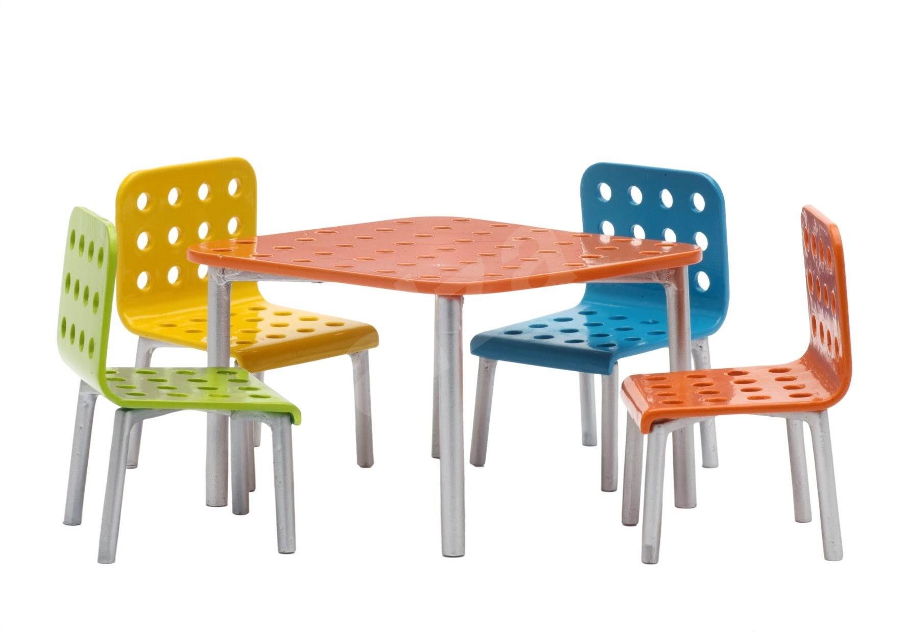 Купить Мебель для домика Набор для террасы, Lundby