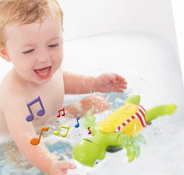Игрушка для ванной - Поющая черепахаИгрушки для ванной<br>Игрушка для ванной - Поющая черепаха<br>