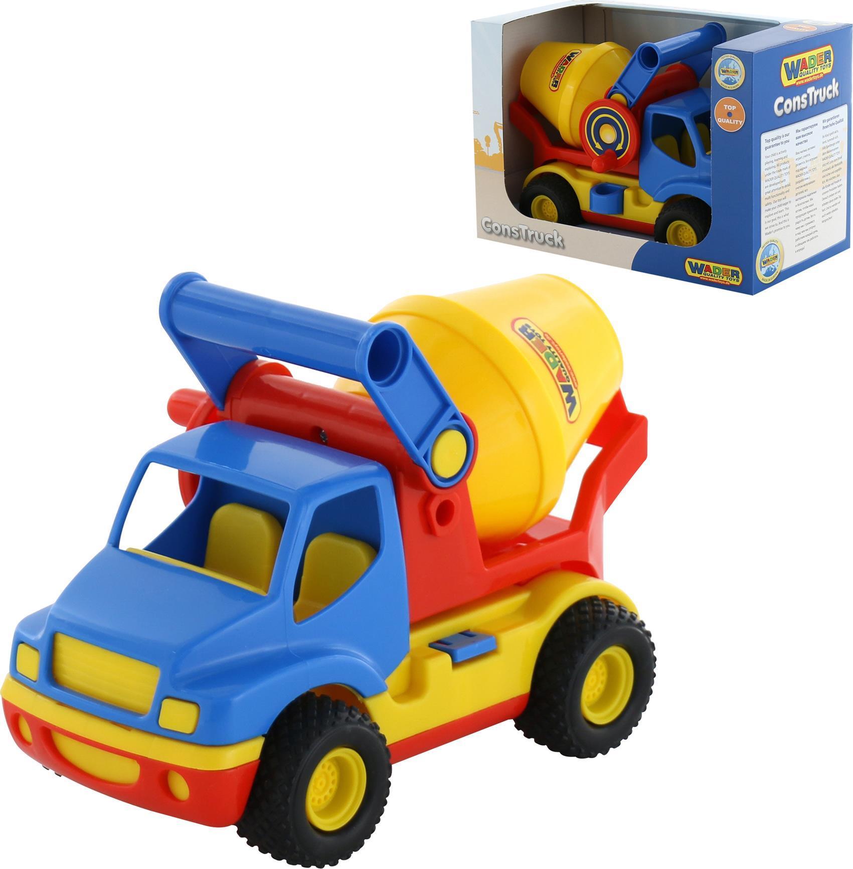 Автомобиль-бетоновоз - КонсТракБетономешалки, строительная техника<br>Автомобиль-бетоновоз - КонсТрак<br>