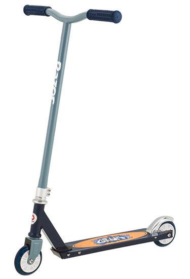 Экстремальный двухколёсный самокат RAZOR Grom, серо-синий, 081704