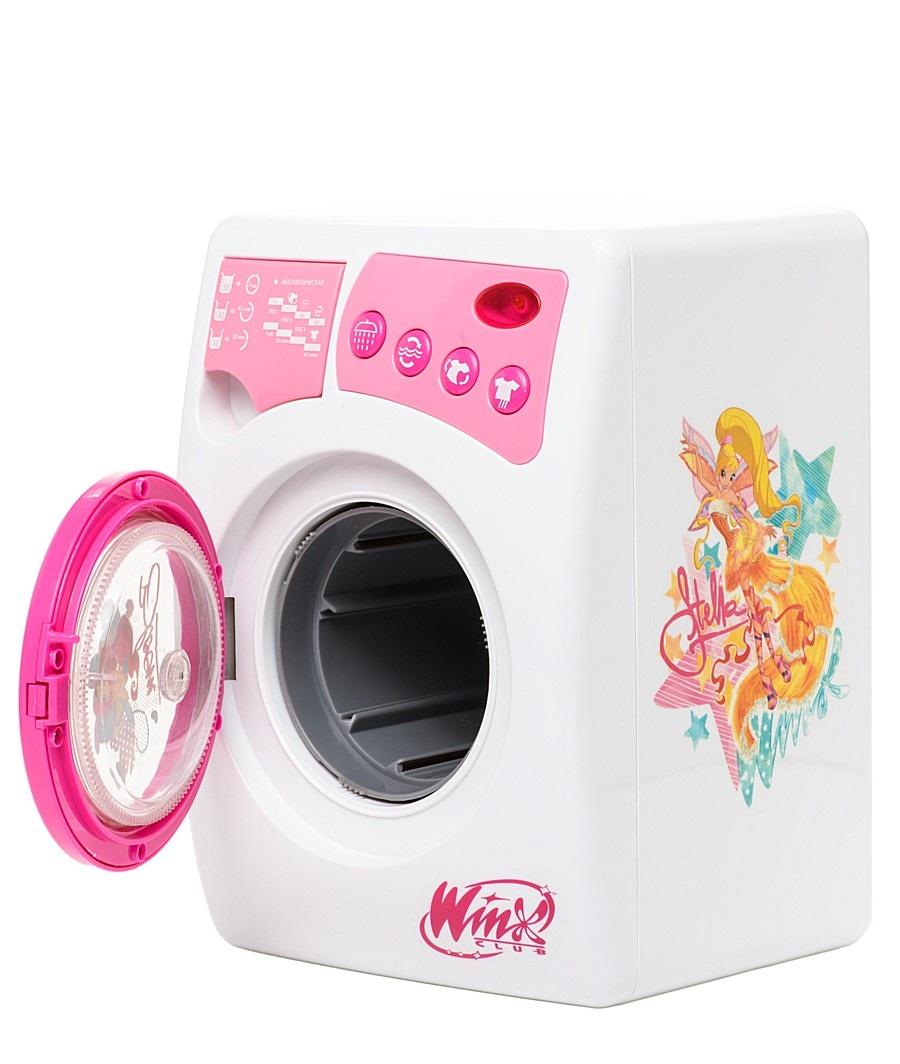 Игрушечная стиральная машина WINX, свет и звукУборка дома, стирка, глажка<br>Игрушечная стиральная машина WINX, свет и звук<br>